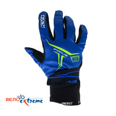 Перчатки KV+ FOCUS cross country gloves blue\white 9G07.2